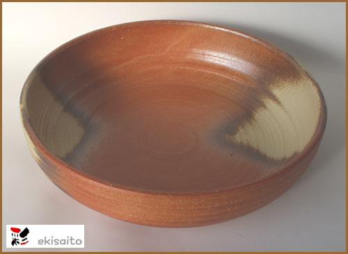 信楽風 大鉢 (33.2cm)送料無料煮物がたっぷり入る