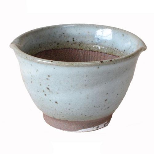 深めのすり鉢ですからこぼれにくい 胡麻和えやたれ作りに また小鉢としても すり鉢 麦とろ用すり鉢 大 16.0cm 売り込み 訳あり商品 均窯