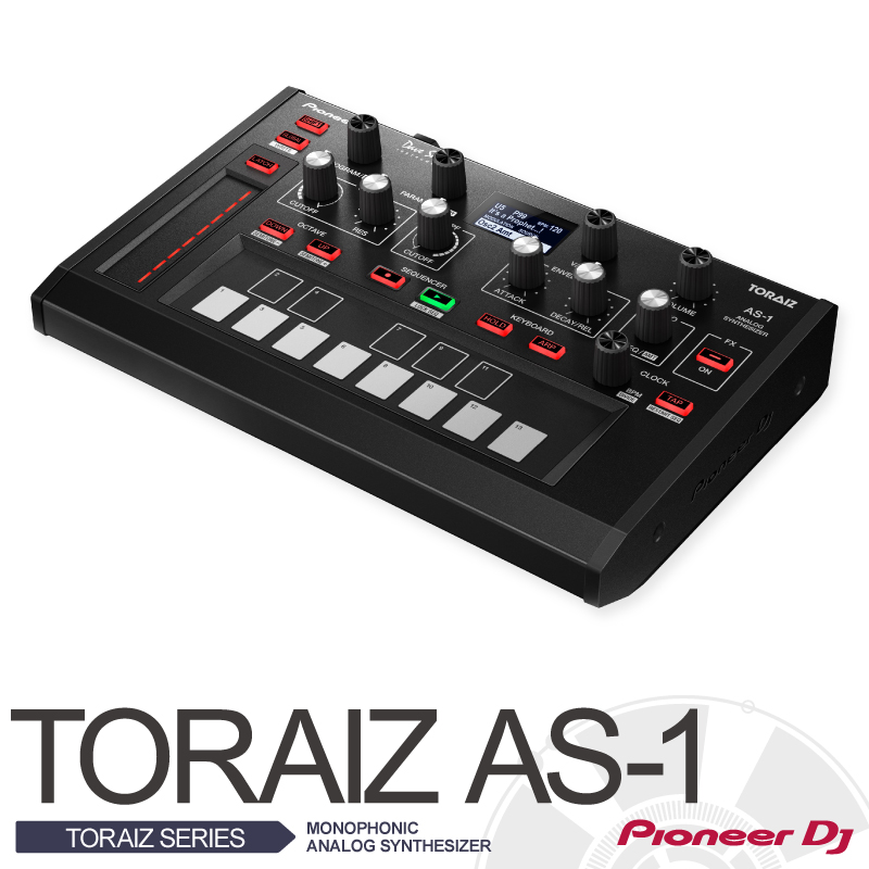 Pioneer Pioneer DJ×Dave Smith Instruments TORAIZ AS-1【パイオニアxデイヴ・スミス】【モノフォニック・アナログ・シンセサイザー】