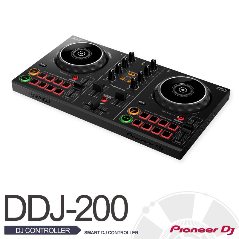 Pioneer Pioneer DDJ-200【スマートフォン対応DJコントローラー】【在庫有り!!即納可能!!】【送料無料】