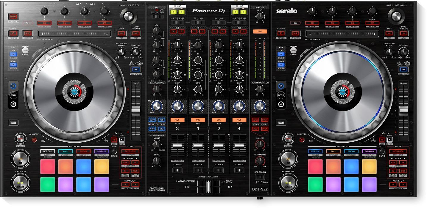Pioneer DDJ-SZ DJコントローラー【パイオニア】【SERATO DJ PRO対応コントローラー】【セラート】【送料無料】