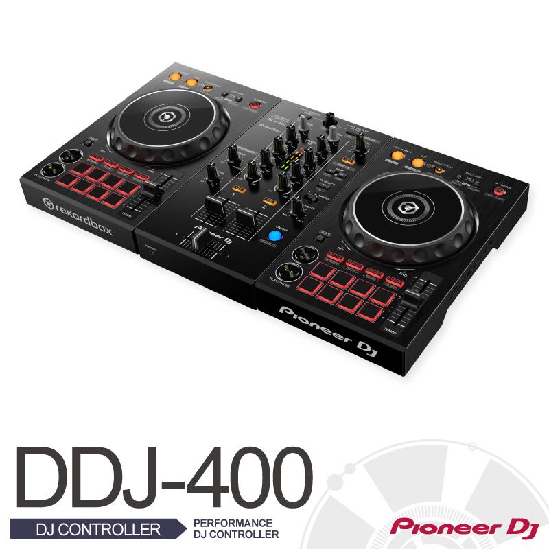 Pioneer PioneerDDJ-400【PERFORMANCE DJ CONTROLLER】【入荷しました!】【パイオニア】【送料無料】