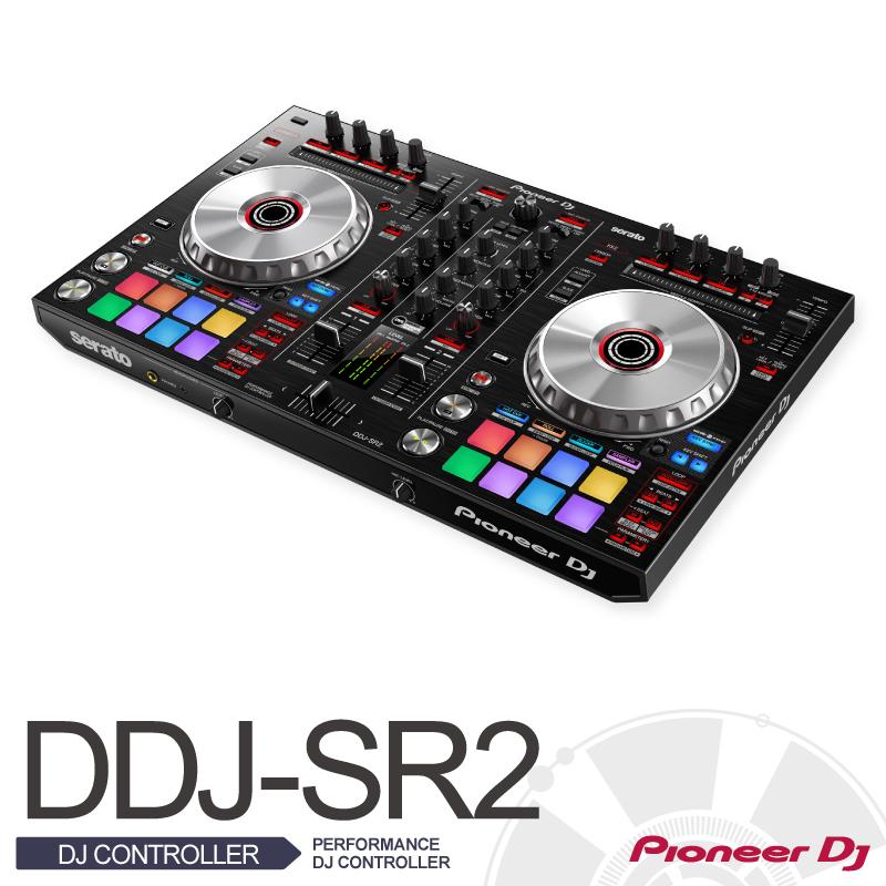 Pioneer PioneerDDJ-SR2【パイオニア】PERFORMANCE DJ CONTROLLER【パフォーマンスDJミキサー】