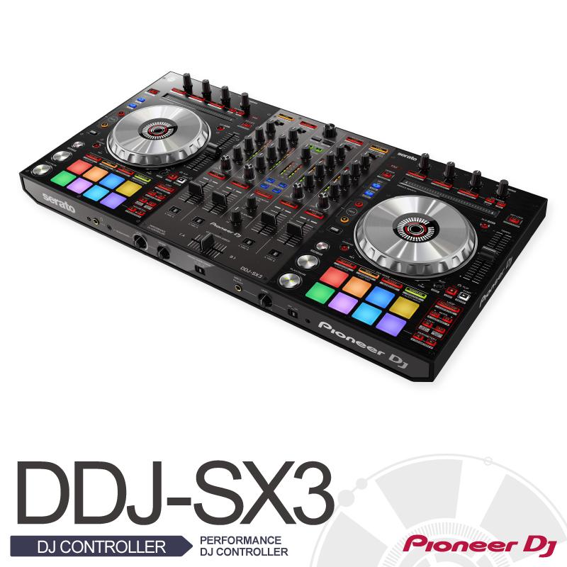 Pioneer PioneerDDJ-SX3【PERFORMANCE DJ CONTROLLER】【パイオニア】【送料無料】