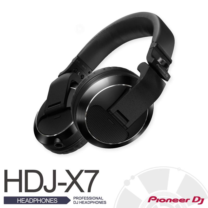 PioneerHDJ-X7-K【パイオニア】【PROFESSIONAL DJ HEADPHONES (black)】