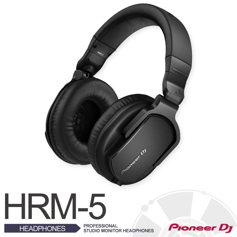PioneerHRM-5【パイオニア】【PROFESSIONAL STUDIO MONITOR HEADPHONES】【送料無料】