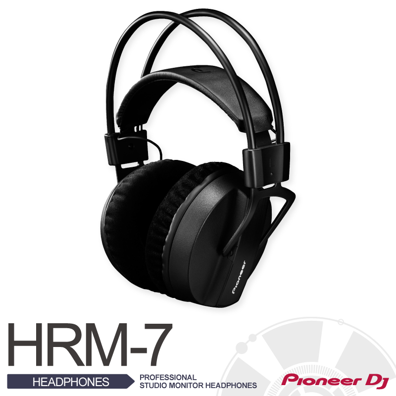 PioneerHRM-7【パイオニア】【PROFESSIONAL STUDIO MONITOR HEADPHONES】