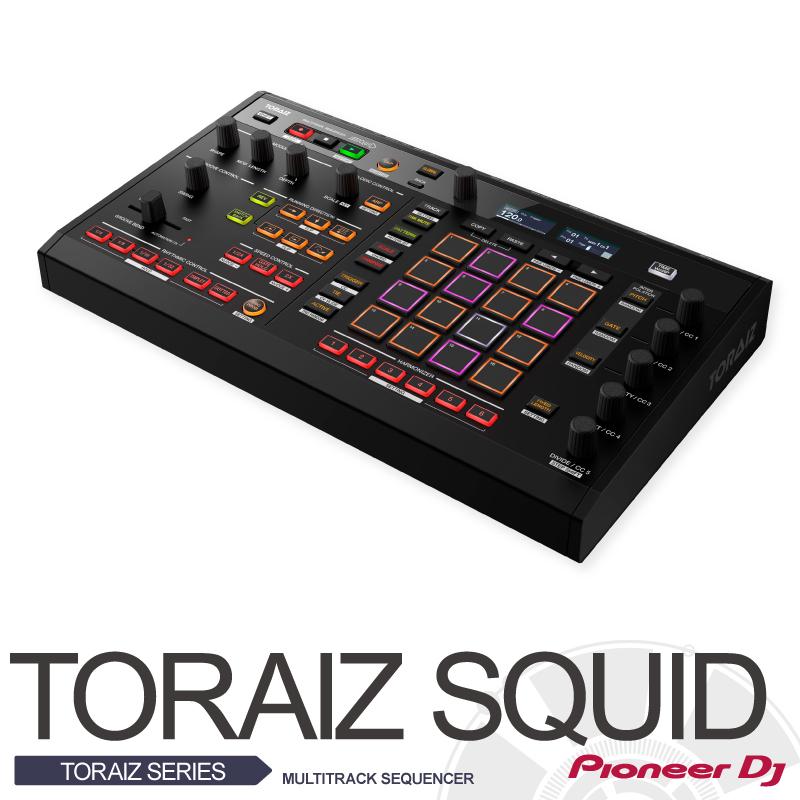 Pioneer TORAIZ SQUAD【Multitrack sequencer】【パイオニア】【マルチトラック・シーケンサー】【4/26発売!!新製品!!】【送料無料】