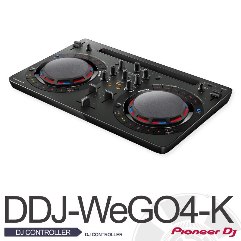 Pioneer DDJ-WEGO4-K【パイオニア】【DJコントローラー】【ウィーゴー】