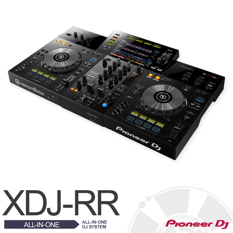 Pioneer XDJ-RR【パイオニア】【ターンテーブル】【DJプレイヤー】【パフォーマンス・マルチプレイヤー】【送料無料】