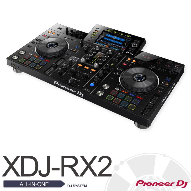 Pioneer DJ パイオニアXDJ-RX2【DJ SYSTEM】【プレーヤー】【コントローラー】【ミキサー一体型】【DJシステム】【送料無料】