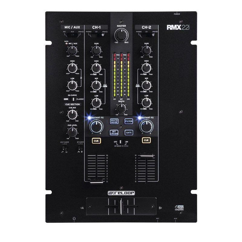 Reloop RMX-22i DJミキサー【リループ】【2+1チャンネル】【送料無料】