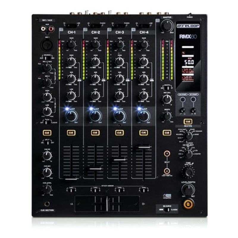 Reloop RMX-60  DJミキサー【リループ】【4+1チャンネル】【送料無料】
