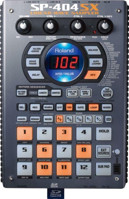 Roland SP-404SX【Sampler】【在庫有り】【サンプラー】 【送料無料】