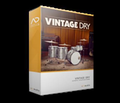 XLN AudioAddictive Drums2Vintage Dry ADpak【送料無料】