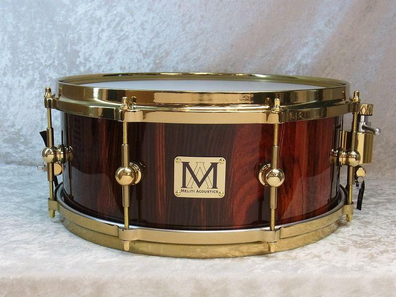 【展示品大特価】Meliti Acoustic DrumsCoCobolo Custom 14
