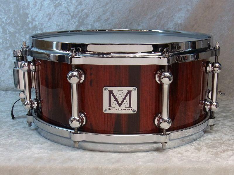 【展示品大特価】Meliti Acoustic DrumsCoCobolo Custom 13