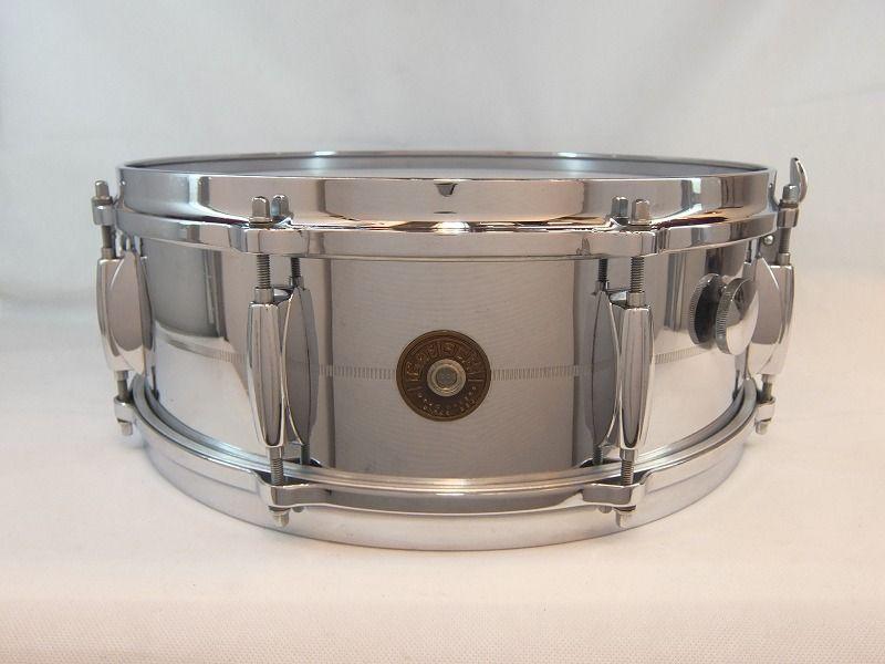【海外買付品!】【ヴィンテージ】Gretsch 1960's G-4160【送料無料】【お茶の水ドラムコネクション】(ドラムセット)(グレッチ)(クロームオーバーブラス)