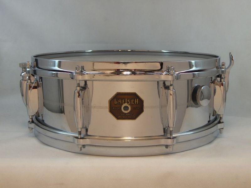 【海外買付品!】【ヴィンテージ】Gretsch 1970's G-4160【送料無料】【お茶の水ドラムコネクション】(ドラムセット)(グレッチ)(クロームオーバーブラス)