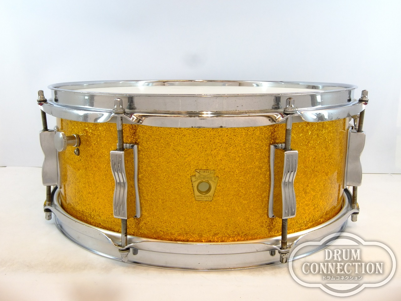 Ludwig 【ヴィンテージ】1968s Jazz Festival Snare Gold Sparkle 14