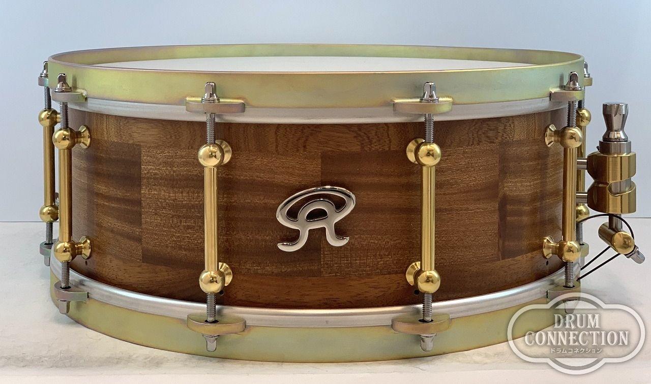 """【正規輸入品】Angel Drums EURO SERIES Mahogany 14""""×5.5""""~Copper Finish~【送料無料】【お茶の水ドラムコネクション】(マホガニー)(スネア)(エンジェルドラム)"""