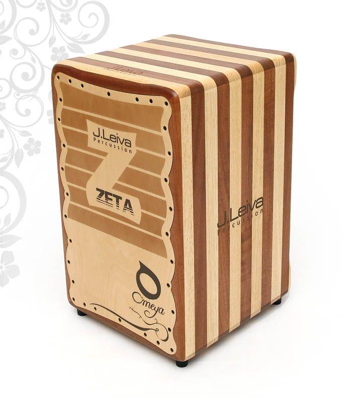 J.Leiva Omeya Zeta【送料無料】【お茶の水ドラムコネクション】(カホン)(スペイン製)(フラメンコ)(低音ずっしり)