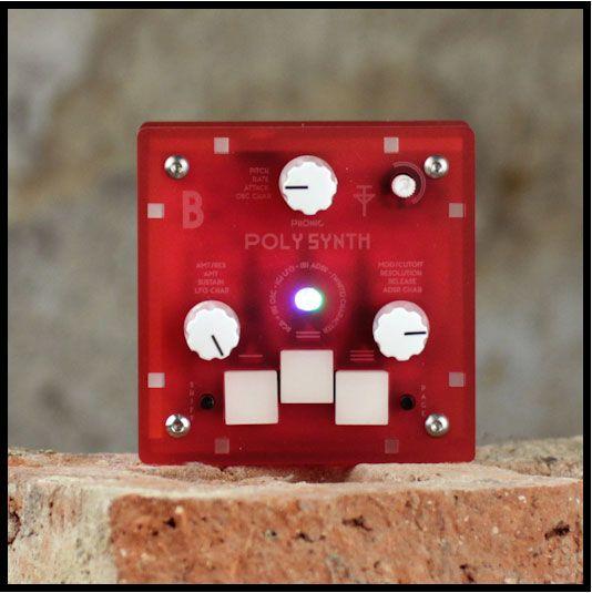 Bastl Instruments Poly【バスタイル・インスツルメンツ】【3ボイス】【ポリフォニック】【FMシンセサイザー】【送料無料】