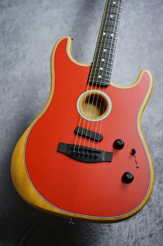 Fender 【1本限り!!】 American Acoustasonic? Stratocaster -Dakota Red- #US202459 [2.37kg] 【即納可能!!】 【お茶の水駅前店在庫品】