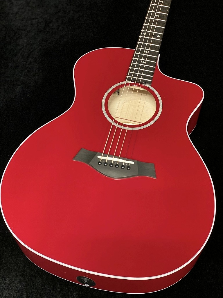 Taylor214ce DLX RED【送料無料】【分割48回無金利】【お茶の水駅前店在庫品】