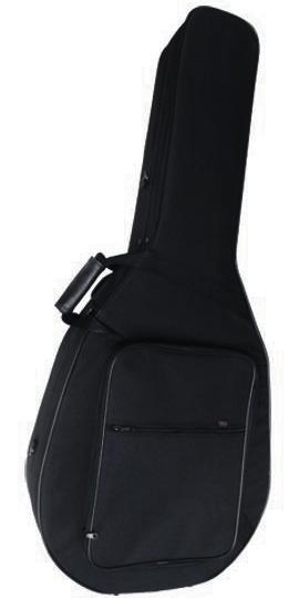 HOSCO ホスコ A.A.A. AC-0717 ウルトラライトケース 17インチアーチトップギター用(16インチ兼用)【ブラック】【ギターケース】【送料無料】