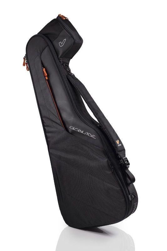 GRUVGEAR グルーヴギア GIGBLADE2 GB2-EG335 BLK 【ブラックカラー】【ギグバッグ】【セミアコースティックギター用】【サイドキャリー方式】【送料無料】