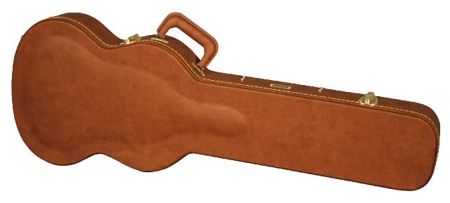 GATORGW-SG-BROWN【木製SGタイプエレキギター用ケース】【エレキギター用ハードケース/SGタイプ用】