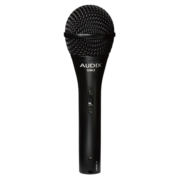 AUDIX (オーディックス) OM2S (On/Offスイッチ搭載版)【AUDIX ボーカル向けダイナミックマイク】 【送料無料】