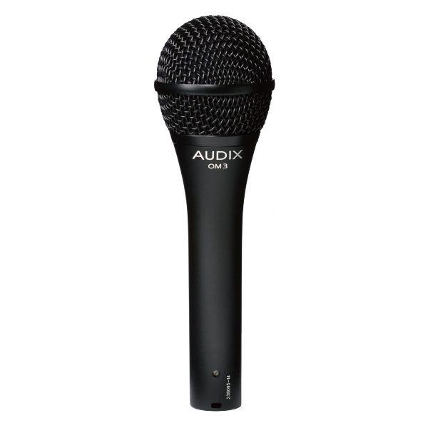 AUDIX (オーディックス) OM3 【AUDIX ボーカル向けダイナミックマイク】【スイッチなしタイプ】 【送料無料】