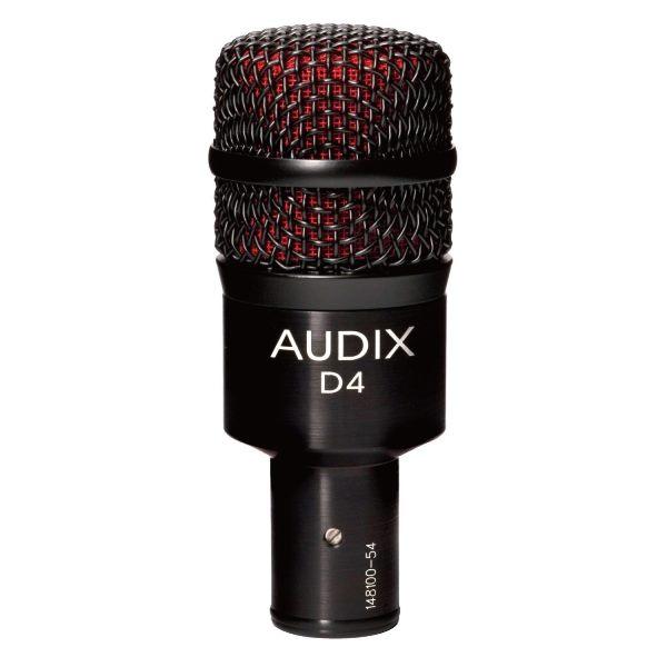 AUDIX (オーディックス) D4【AUDIX 楽器向けダイナミックマイク】 【送料無料】