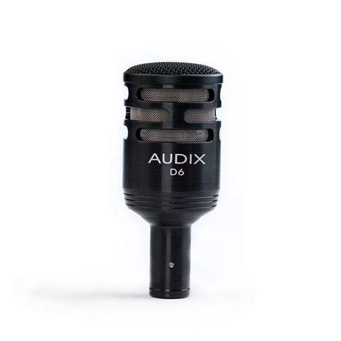 AUDIX (オーディックス) D6【AUDIX 低音楽器向けダイナミックマイク】 【送料無料】