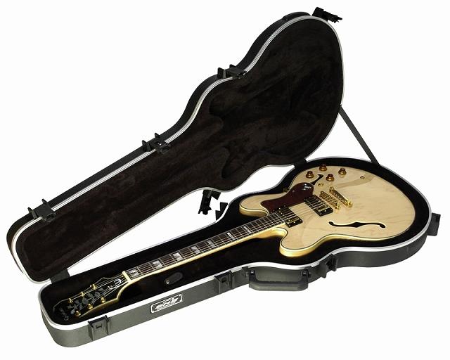 SKB Thin Body Semi-Hollow Guitar Case 【1SKB-35】【エレキギター用】【ハードケース】【335タイプ セミアコ用】【WEB限定】【送料無料】