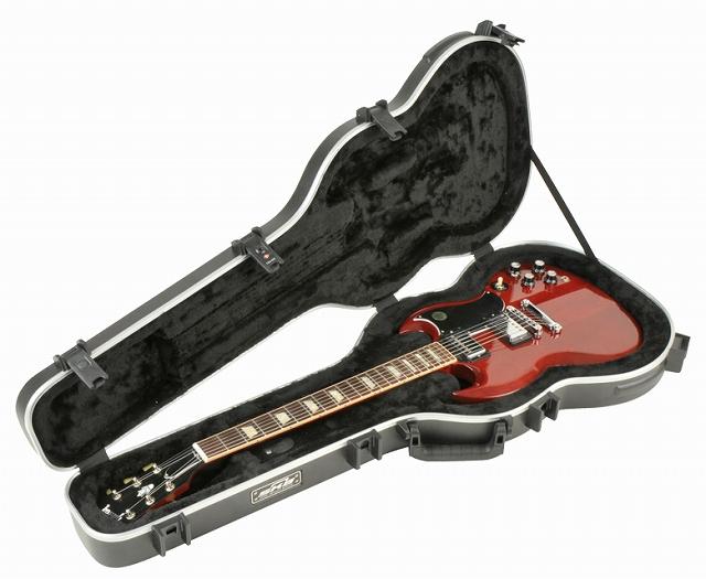 SKB SG Hardshell Guitar Case 【1SKB-61】【エレキギター用】【ハードケース】【SG用】【WEB限定】【送料無料】
