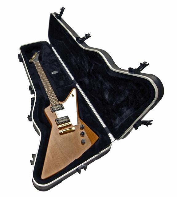SKB Explorer / Firebird Hardshell Guitar Case 【1SKB-63】【エレキギター用】【ハードケース】【エクスプローラー/ファイヤーバード用】【ジャクソン・ケリー/ウォーリアも】【WEB限定】【送料無料】