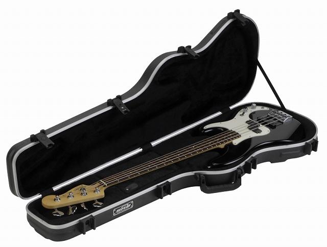 SKB Shaped Standard Bass Case 【1SKB-FB-4】【ベースギター用】【ハードケース】【JB/PB向け】【WEB限定】【送料無料】