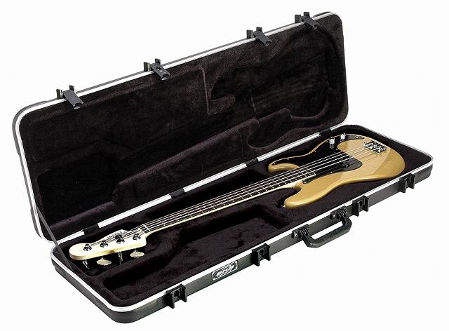 SKB Electric Bass Rectangular Case 【1SKB-44】【ベースギター用】【ハードケース】【TSAロック付き】【WEB限定】【送料無料】