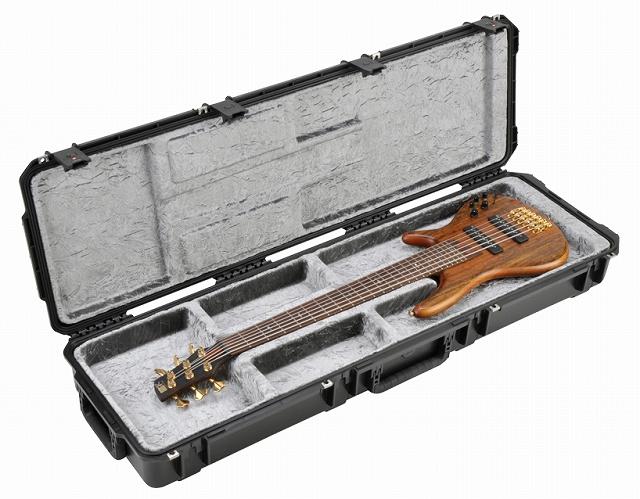 SKB iSeries Waterproof ATA Open Cavity Bass Case 【3i-5014-OP】【ベースギター用】【ハードケース】【各種シェイプ対応】【耐水ケース】【WEB限定】【送料無料】