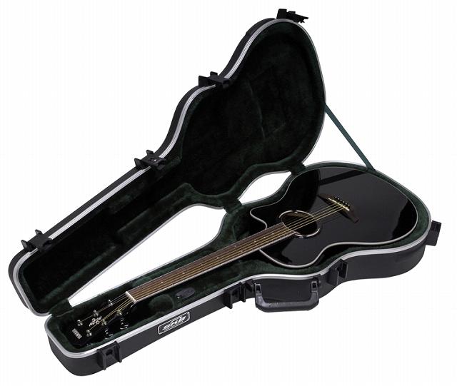 SKB Thin-line AE / Classical Deluxe Guitar Case 【1SKB-30】【アコースティックギター用】【ハードケース】【クラシックギター・薄型ボディ用】【WEB限定】【送料無料】