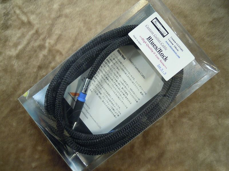 Shin's music Custom Guitar Cable Blues/Rock 5m S/S 【5メートル S/S】【ギターケーブル/シールド】
