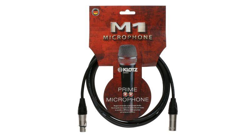 KLOTZ クロッツ M1 3m マイクケーブル キャノン 新品未使用 3メートル シールド ストア