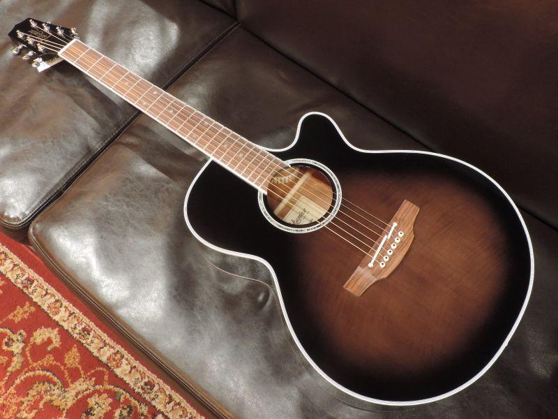 【アウトレット特価】Takamine タカミネPTU121C 【高峰楽器】【国産・日本製】【エレアコ】【アコースティックギター】【送料無料】