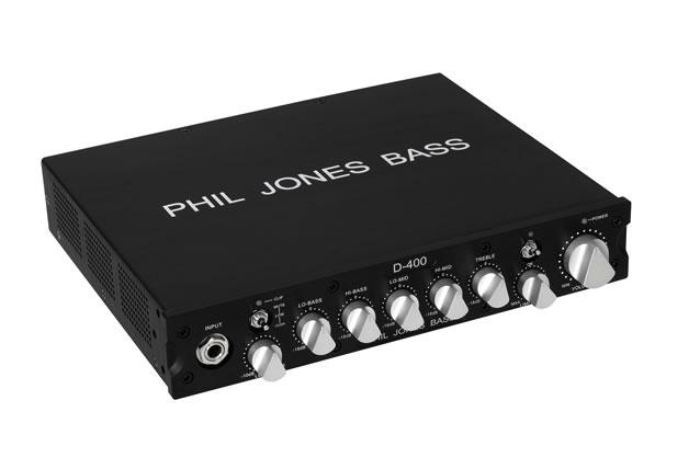 Phil Jones Bass フィル・ジョーンズ・ベース BASS D-400 【アンプ】【ベース用】【ヘッド】【送料無料】