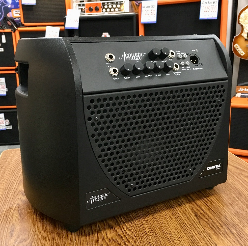 Acoustic Image 650BA Contra S4 1ch 300W Combo Amp 【コンボアンプ】【在庫限り大特価!!】【新品アウトレット】【ベース・アコギ兼用可】【送料無料】