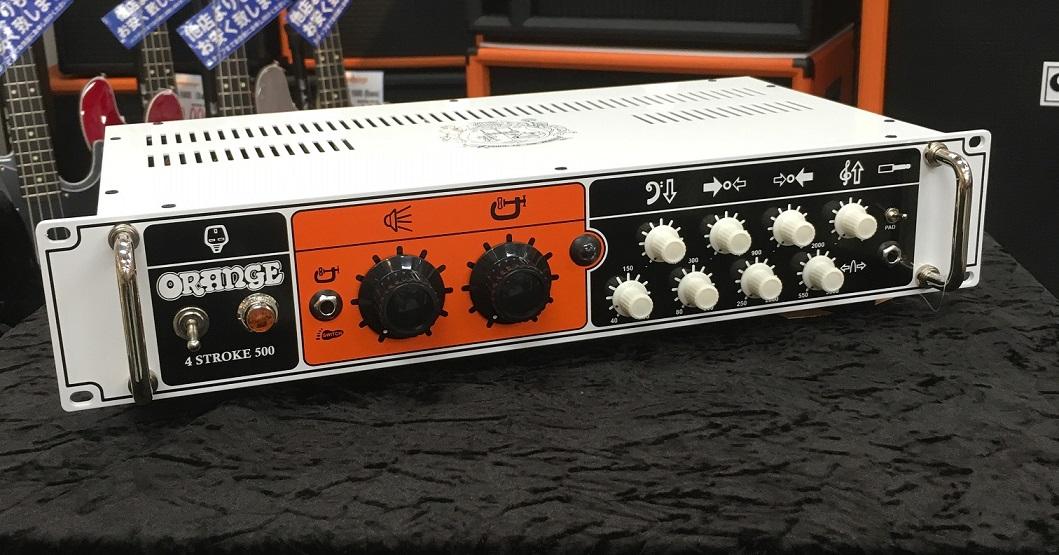 Orange オレンジ 4-STROKE 500 【トランジスタ回路】【ベース用】【アンプヘッド】【送料無料】【店頭展示品】【500W】【ラックマウント可】