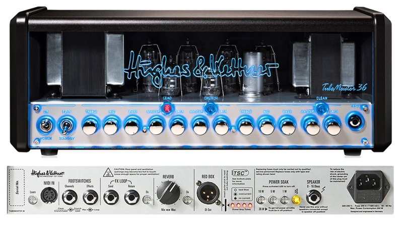 Hughes&Kettner(ヒュース&ケトナー)TubeMeister 36 Head【HUK-TM36/H】【36W ギターアンプヘッド】【送料無料】